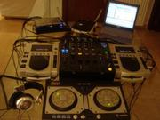 2X PIONEER CDJ 1000 MK3 PLAYER AND 1 X DJM 800  PROFESSIONAL DJ MIXERS