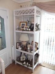 shelving unit Italian white / cream