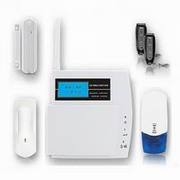 Wireless GSM Touch Keypad home intruder alarm System FS-AM211 with LCD display