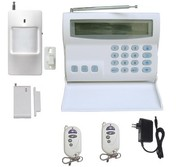 Indicator security Wireless & wire 16 zones alarm FS-AME516