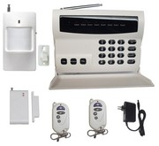 Indicator security Wireless & wire 8 zones alarm FS-AME506