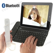 iPad Skype Bluetooth Keyboard with Telephone Handset for ipad 3