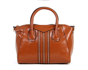 Senior  wax skin leather handbag  luxury handbag mbl6688#