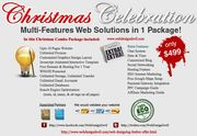 Christmas Offer Web Design Domain,  Hosting & Extra Features