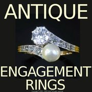 Specialized Antique jewellery store sells  engagement rings.