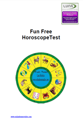 Free Fun Horsocope Test
