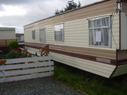 sited static caravan with garden and shed nr prestatyn ok for pets