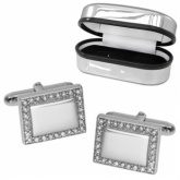 Personalised Zirconia Cufflinks Online