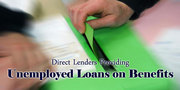 Unemployed Loans - Perfect Solution for Your Financial Problems