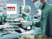 Surgical Negligence Claims | Surgical Negligence Compensation Claim
