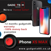 Refurbished iPhone XS Max – Factory Unlocked | Genuine UK Stock