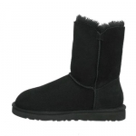 Uggs Cheap Boots Bailey Button (Black)